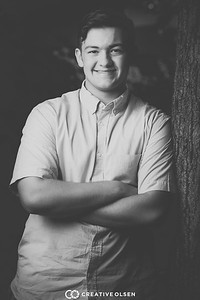080217 Brendan Peterson Senior Portrait Session
