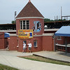 """The DAP (Durham Athletic Park) - former home of the Durham Bulls and location of the movie """"Bull Durham""""."""