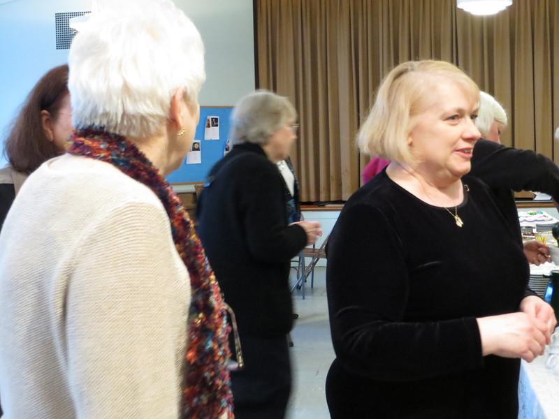 Nan Heath organized the lovely reception.