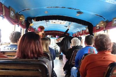 a Nun boards the bus