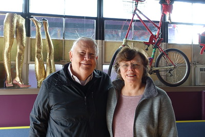 Bruce and Rosa Alice Gray visited with us in May 2017
