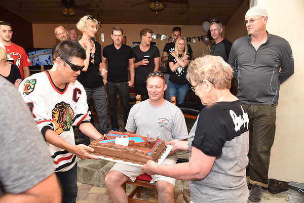 Bruce's Surprize 50th BD Party