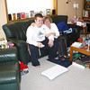 Andrew & Marilyn setting up new Wii Fit system