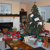 Tree on Christmas morning after Santa's visit