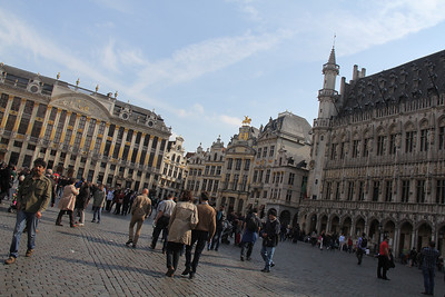 Brussels by day and night 2014
