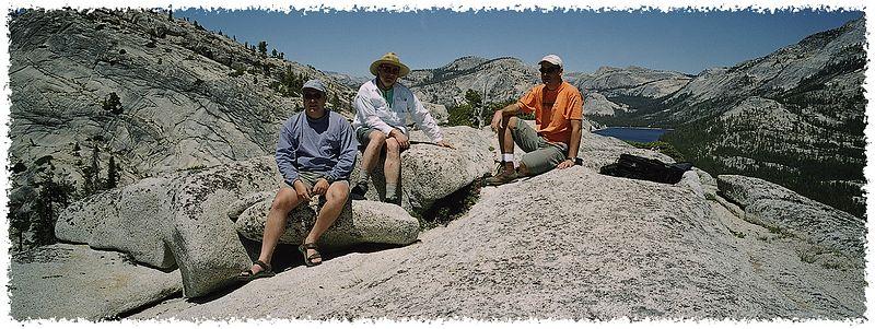 Alex, Bob, Walter - Yosemite