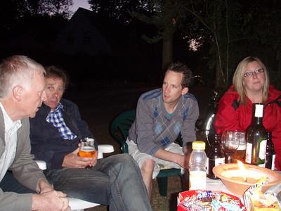 Roger, Armand, Benny en Sofie.