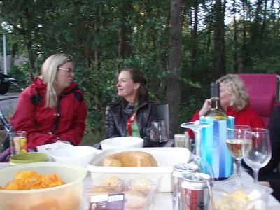 Sofie, Kris en Christiane.
