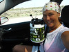 When heading to the desert, get yourself a Big Gulp of some form....less trips to refill your water jug!