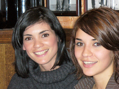 Adriana & her sister Gaby