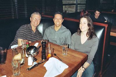 Steve Usnick, Rene Cortez, and Amanda