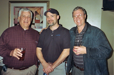 Bob Reichert, Charlie, and Steve