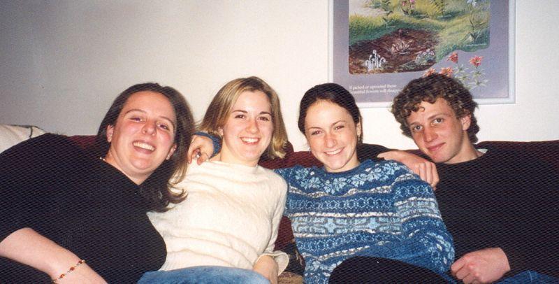 Kaitlin, Erin, Christina, and Robbie