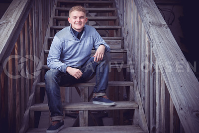 120116 Caleb Schlotfeld Senior Portrait Session