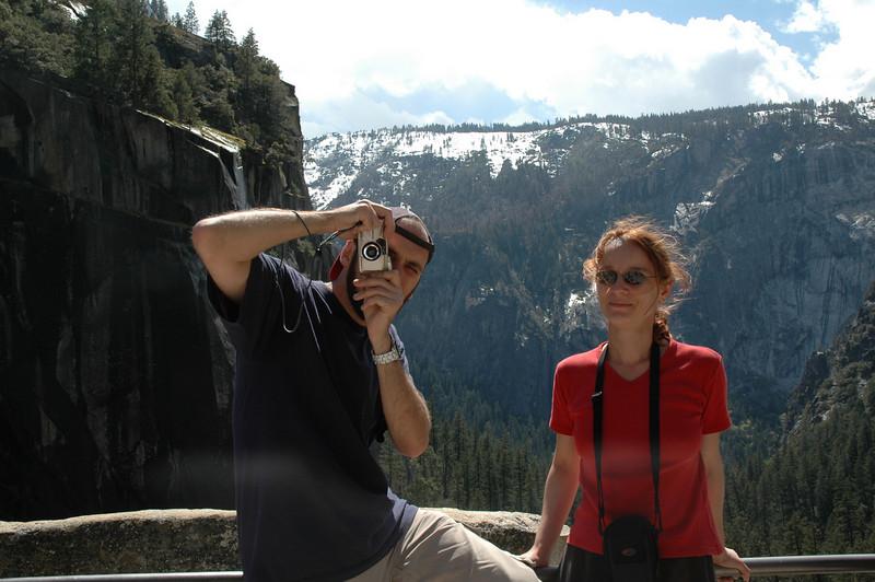 Peter & Iza at Vernal Falls