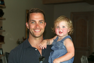 Quinn with Dad 8-24-14