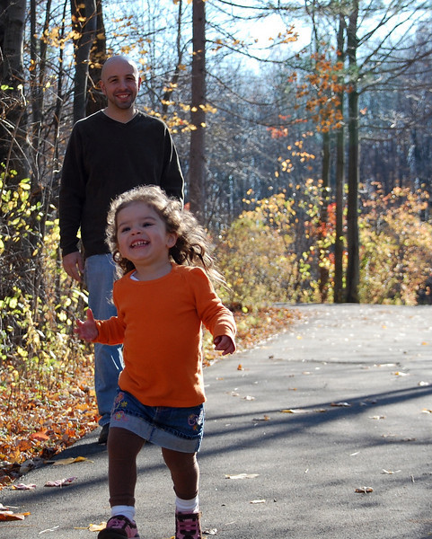 Caliri Family at the Metroparks 11-1-09