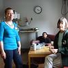 Kristen, David and Grandma Sue. It's 4:15!