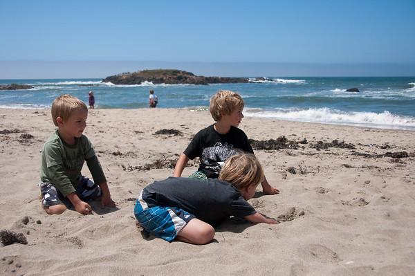 Beach Bummin' with Friends