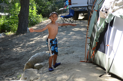 Camping  July 2011 - La Jolla Indian Reservation