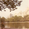 Labor Day 1971 and we're off the road relaxing in Central Park!