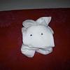 A little towel bunny.