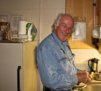 Bayard Begins the Cooking