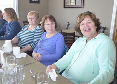 Marg, Marilyn, Jean, Bonnie
