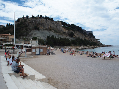 Main beach, Cassis