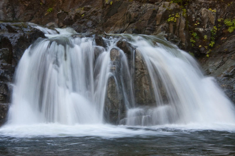 The Falls in long shutter speed (note the change from the previous trip)