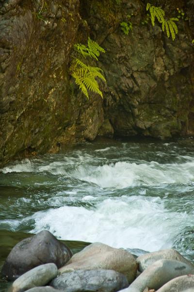 Run below the Falls