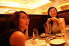 Pam and Jade at Cheesecake Factory.