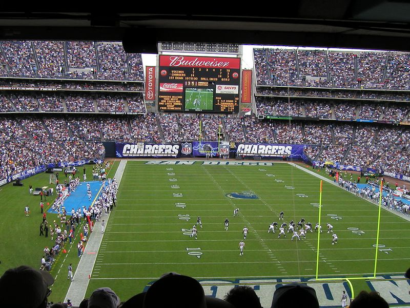 End Zone view of the Stadium