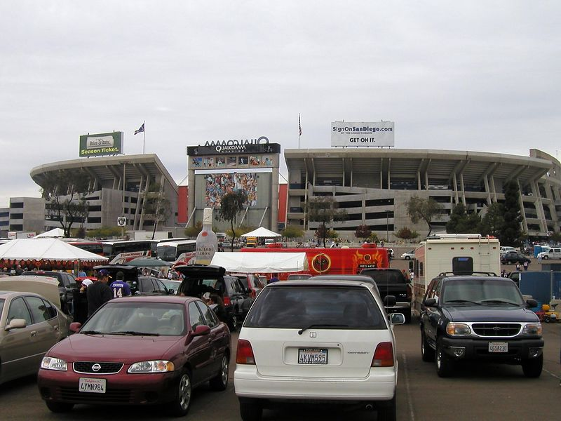 Qualcomm Stadium - Home fo the San Diego Chargers