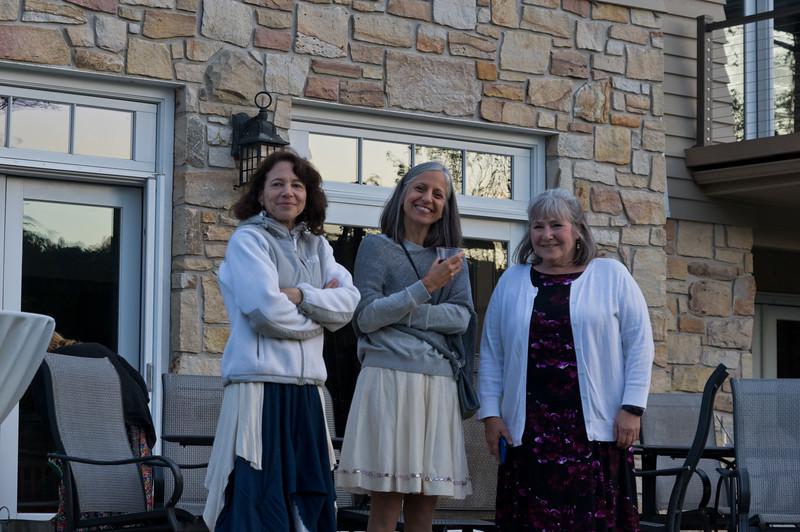 Nina, Mary, Edna