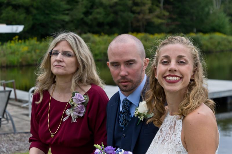 Caroline, Charlie, Liz