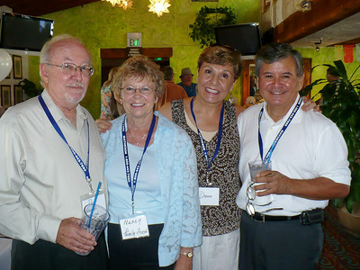 Pat O'Brien, Nancy Wier, Donna and Al