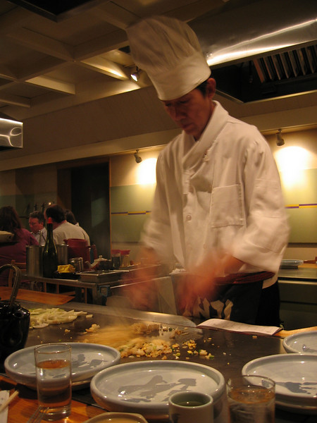 Chef Genji, the Ninja in a White Suit - 2008, 1/14