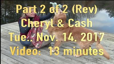 Video: Cash Part 2 of 2  (Rev) ~~  13 minutes -- Cheryl and Cash