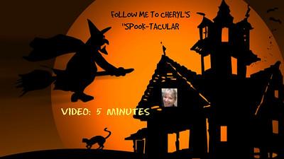 Video: 5 minutes -- Halloween at Cheryl's - Oct. 2017