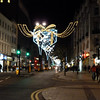 Xmas lights on Oxford St.  Not great, but better than Regent St!