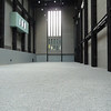 Installation at Tate Modern.  100,000,000 man-made, porcelain pumpkin seeds by Chinese artist Wei Wei.