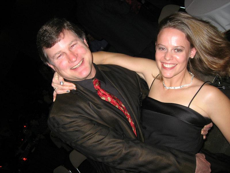 Eddie dipping his lady  :)