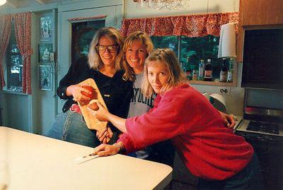 Martha, Andrea, and Susan