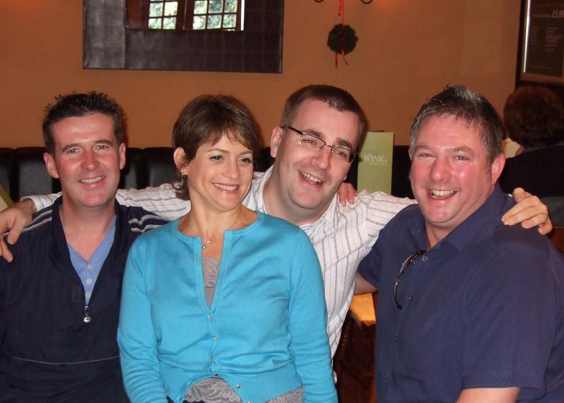 Pat, Jo, Nick and Paul