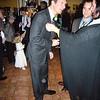 The groom looking dapper in his posh tailored Italian suit...