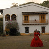The hacienda where Santana once lived with a typically stunning quinceañera.