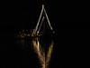 Sailboat Christmas lights 2007 (4)
