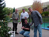Four men and a remote controlled helicopter.  Anyone see trouble?