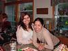 Deepika and Leah enjoy the Christmas spirit.